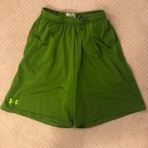 Green Under Armour Shorts